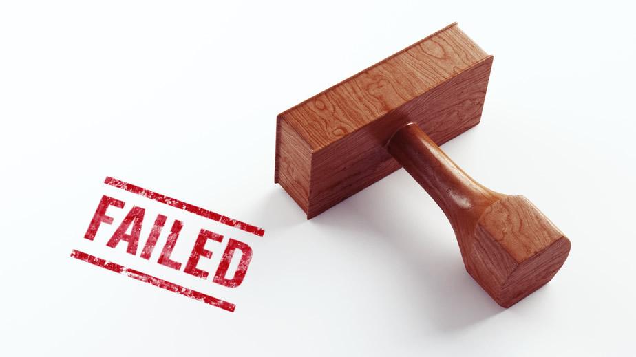 us citizenship test fail stamp